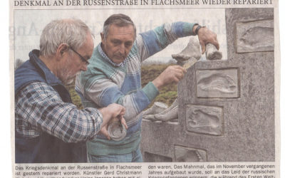 Projekt Russenstraße – Reparatur